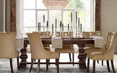 Alfresco Brown Banks Extending Dining Tables