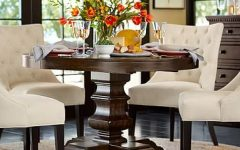 Alfresco Brown Banks Pedestal Extending Dining Tables