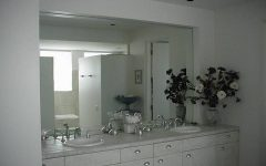 Frameless Large Mirrors