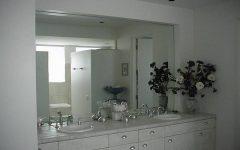 Frameless Large Mirrors