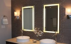 Vanity Mirrors With Built in Lights