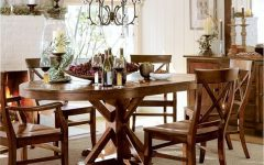 Benchwright Round Pedestal Dining Tables