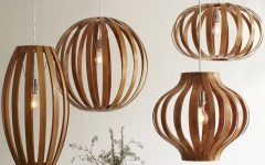 Bent Wood Pendant Lights