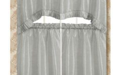 Bermuda Ruffle Kitchen Curtain Tier Sets