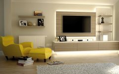 Fitted Wall Units Living Room