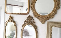 Vintage Gold Mirrors
