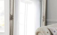 Pewter Ornate Mirrors