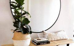 Large Circle Mirrors