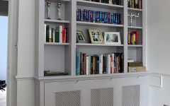 Radiator Cover and Bookcase