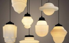 Milk Glass Australia Pendant Lights