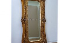 Extra Large Gold Mirrors