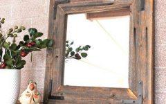 Decorative Wooden Mirrors