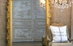 French Gold Mirrors