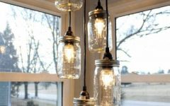 Mason Jar Pendant Lights for Sale