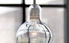 Blown Glass Mini Pendant Lights