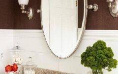 Oval Bath Mirrors