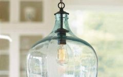 Wine Jug Pendant Lights