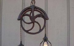 Pulley Lights Fixture