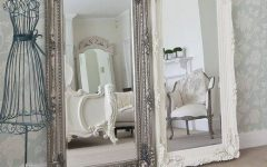 White Shabby Chic Mirrors