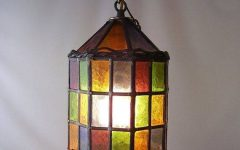 Diy Stained Glass Pendant Lights