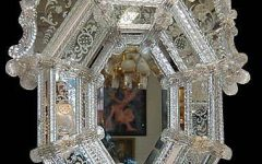 Antique Venetian Glass Mirrors
