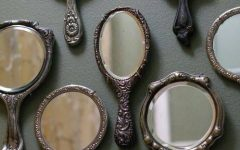 Small Vintage Mirrors