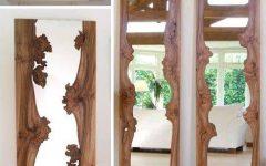 Natural Wood Framed Mirrors
