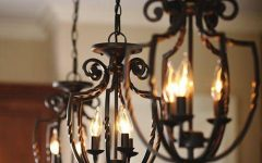 Wrought Iron Lights Pendants