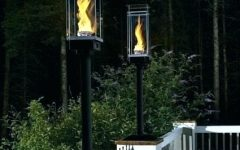Outdoor Gas Lanterns