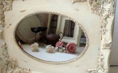 Shabby Chic Cream Mirrors