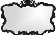 Black Antique Mirrors