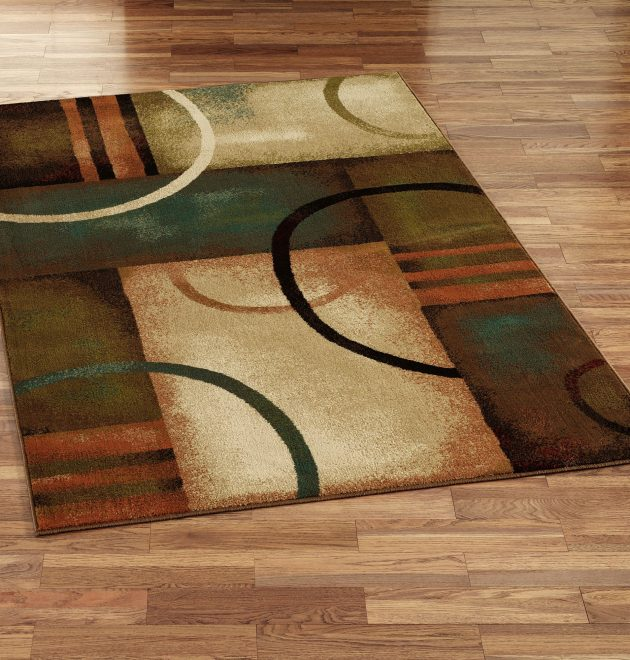 Wool Contemporary Area Rugs