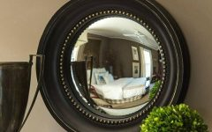 Black Convex Mirrors