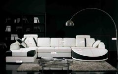 White and Black Sofas