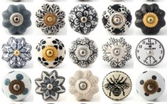Porcelain Cupboard Knobs