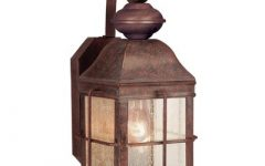 Anner Seeded Glass Outdoor Wall Lanterns