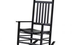 Black Patio Rocking Chairs