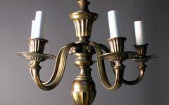 Old Brass Chandelier