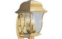 Gold Outdoor Lanterns