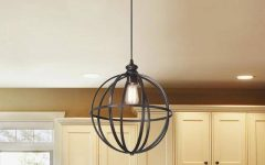 Bronze Globe Pendant Lights