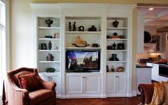 Built in Tv Bookcase