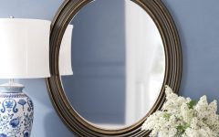 Burnes Oval Traditional Wall Mirrors