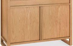Narrow Oak Sideboard