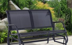 Outdoor Patio Swing Glider Benches