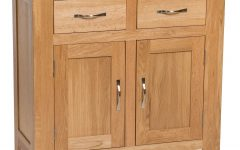 Natural Oak Wood 2-door Sideboards