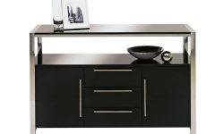 Sideboard Black Gloss