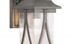 Chelston Seeded Glass Outdoor Wall Lanterns