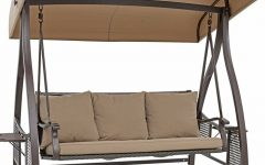 Outdoor Canopy Hammock Porch Swings with Stand