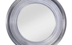 Round Silver Wall Mirrors