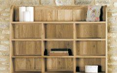 Oak Wall Shelving Units